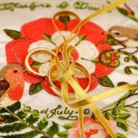 Ring Cushion Embroidery
