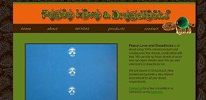 Peace Love and Dreadlocks website