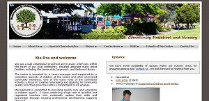 Redwood Early Childhood Centre website