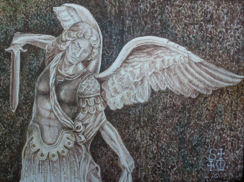 the full picture of Archangel Michael