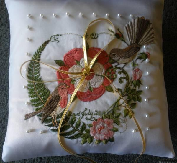ring cushion for wedding